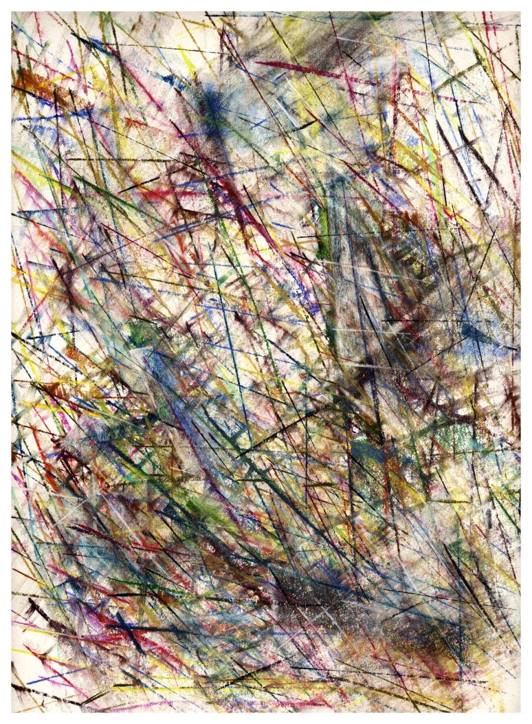 Untitled 1989 - pastel