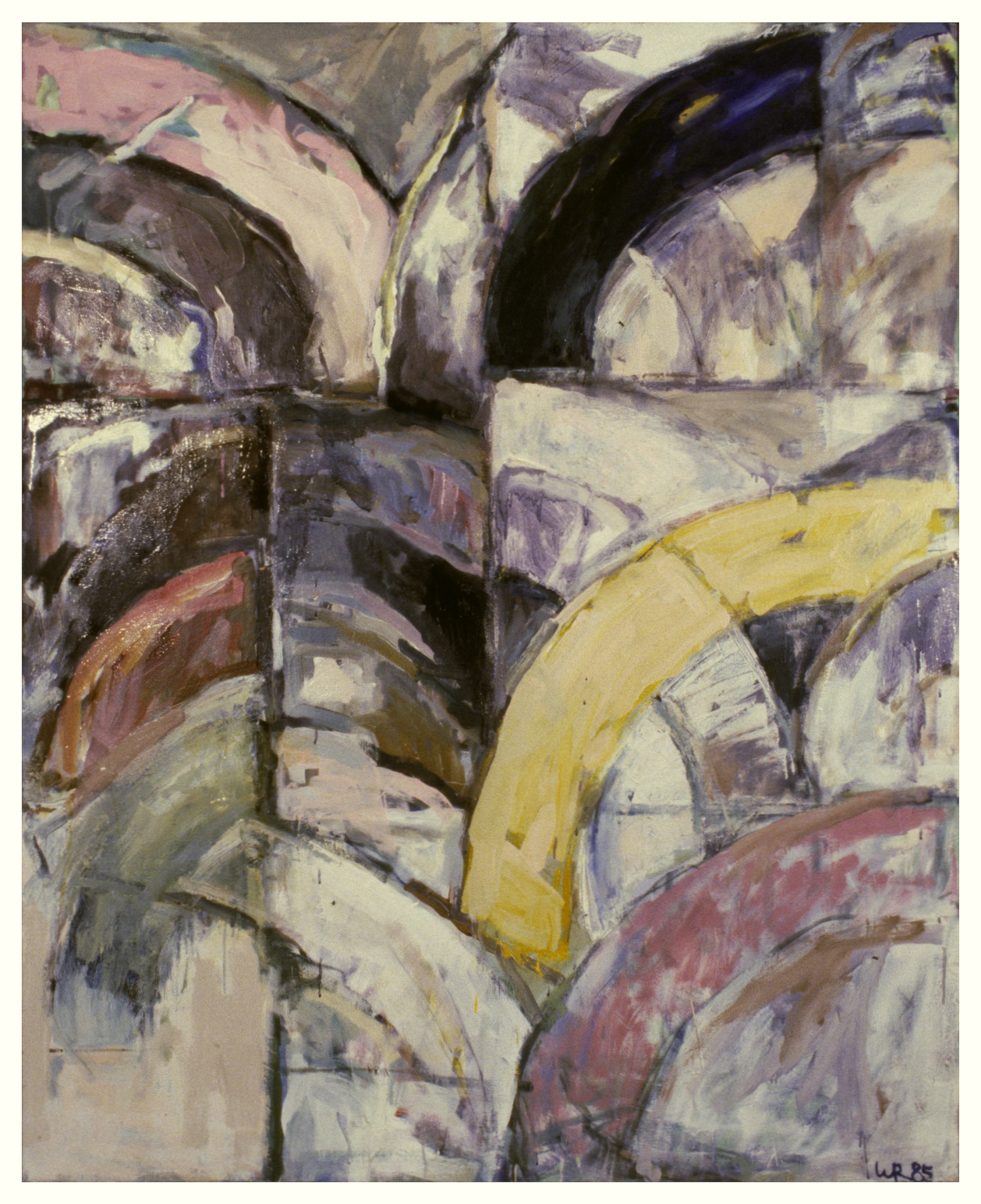 Untitled 1985 - oil