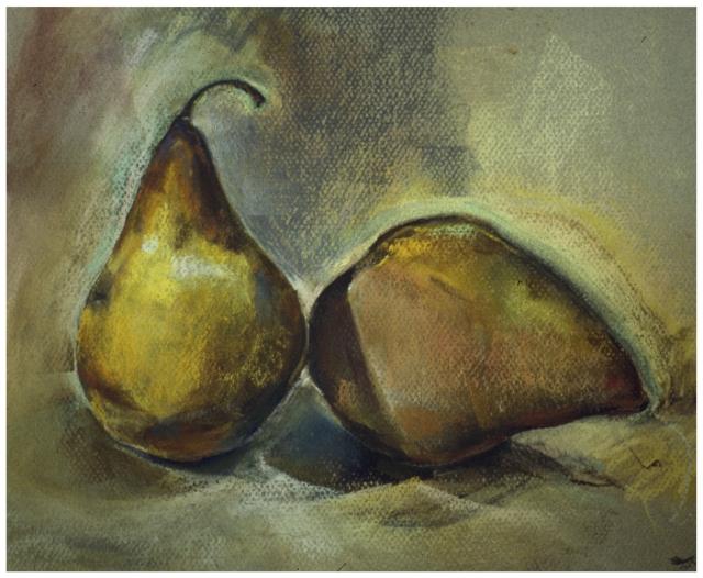 Pears 1988 - pastel