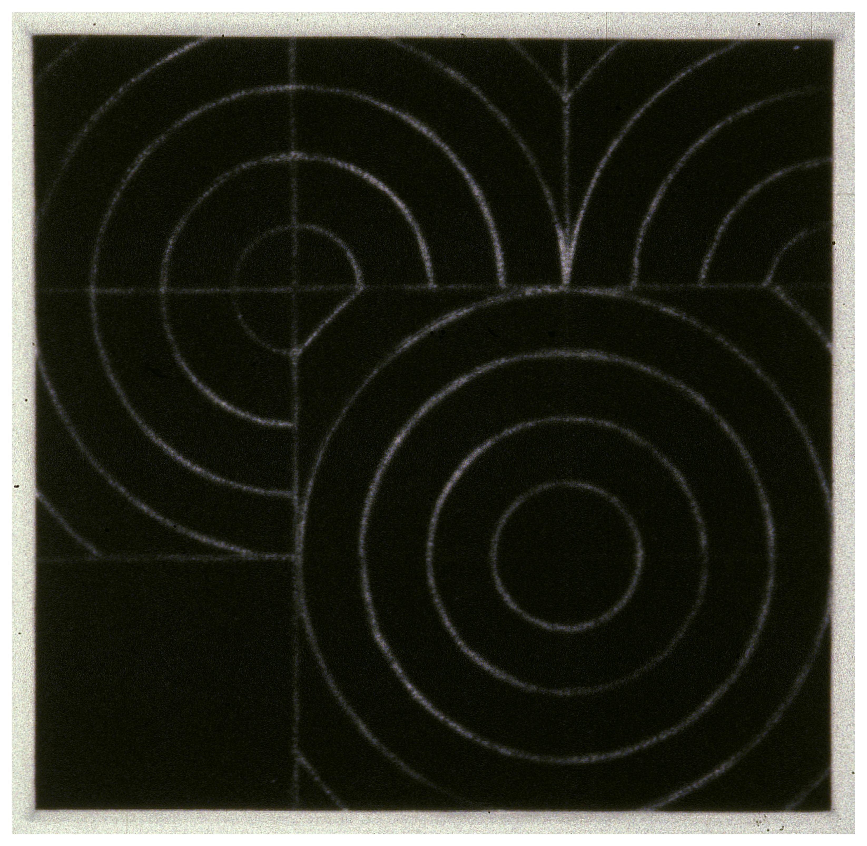 Untitled 1978 - mezzotint