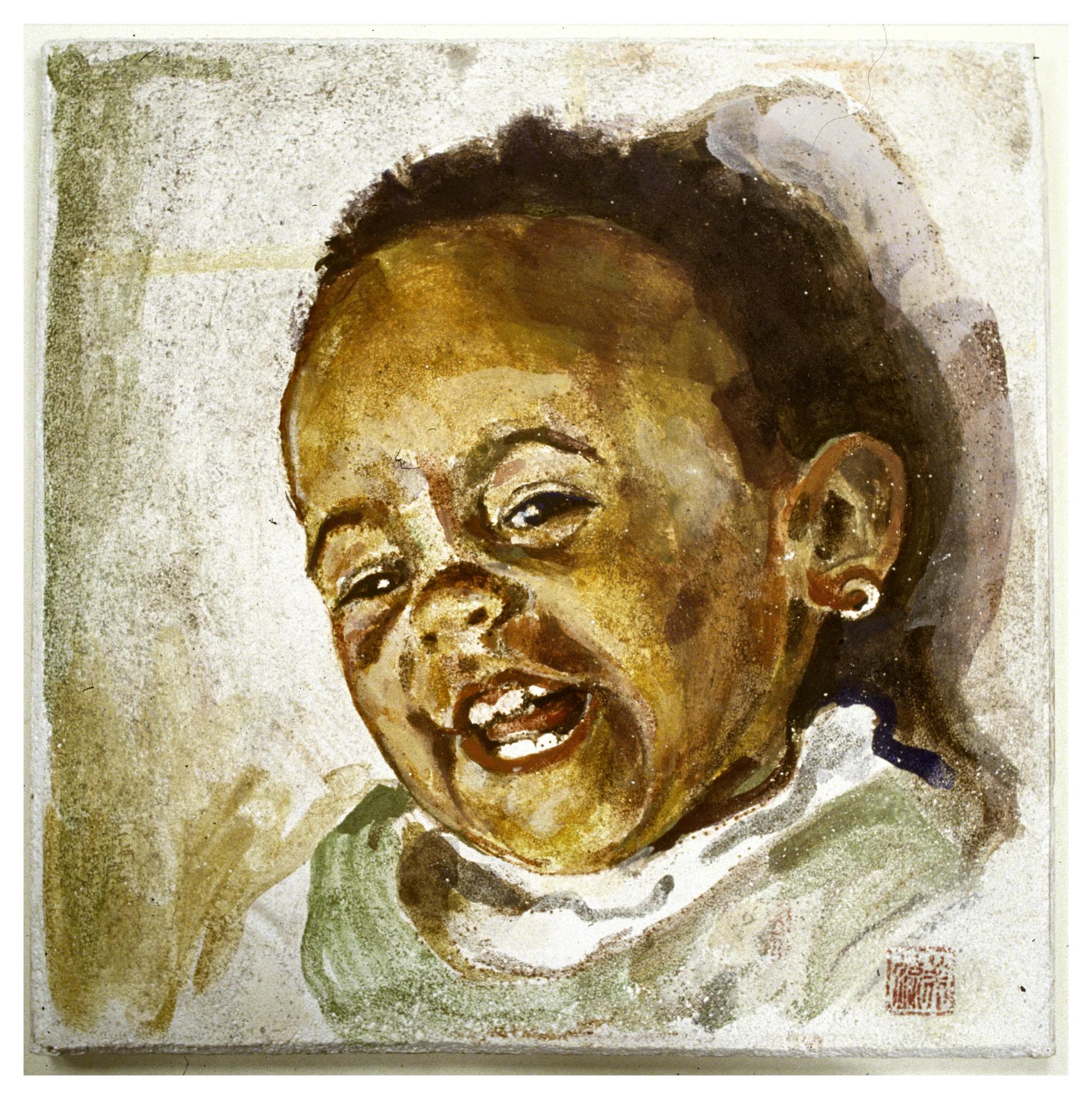 Portrait 1991 - trad. buon fresco